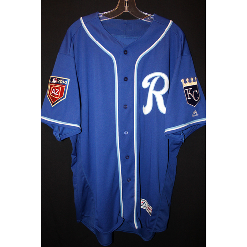 Photo of Team-Issued Spring Training Jersey: Ned Yost (Size 50)