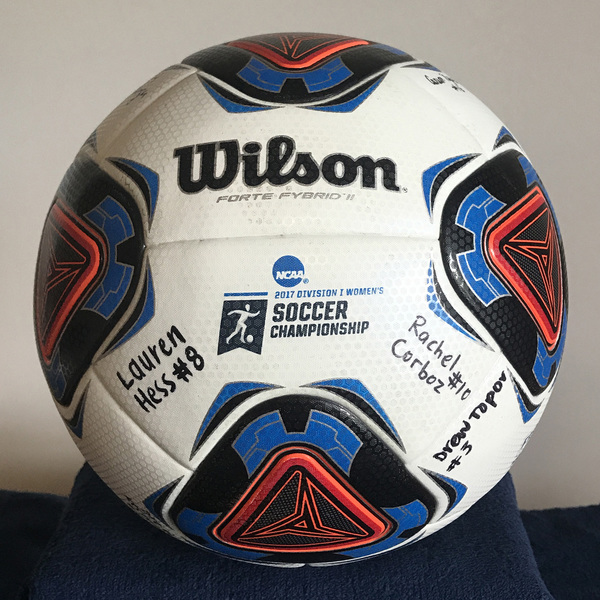 Photo of Georgetown Women's Soccer Signed Ball