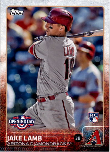 Photo of 2015 Topps Opening Day #16 Jake Lamb RC