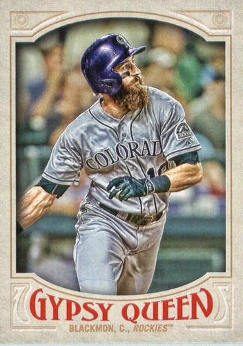 Photo of 2016 Topps Gypsy Queen #24 Charlie Blackmon