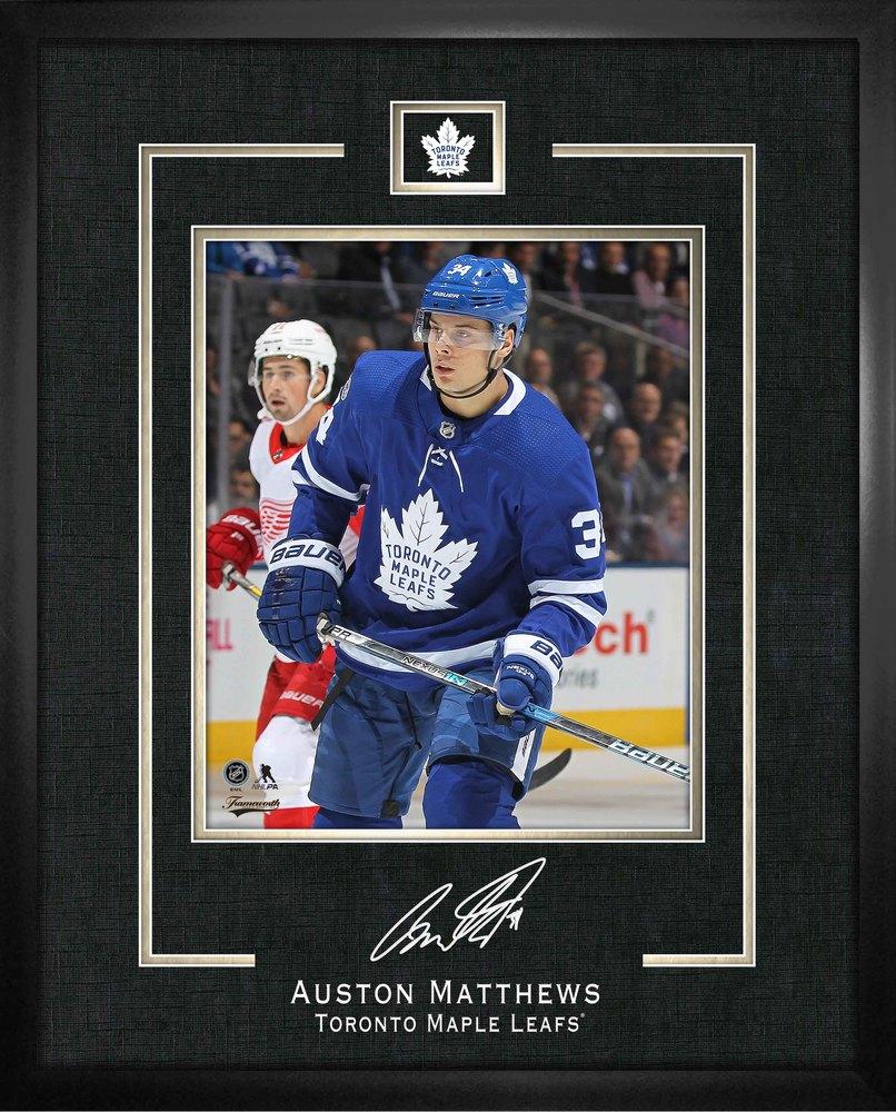 Auston Matthews 16x20 Replica Signature Frame Leafs