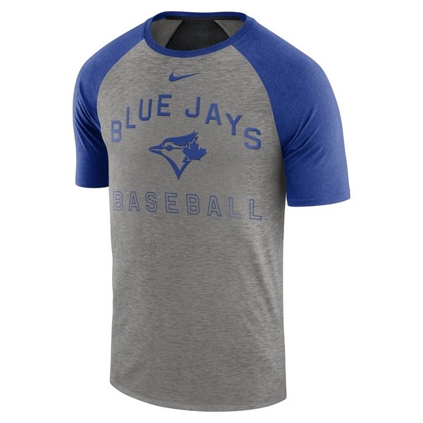 Toronto Blue Jays Dri-FIT Slub Raglan by Nike