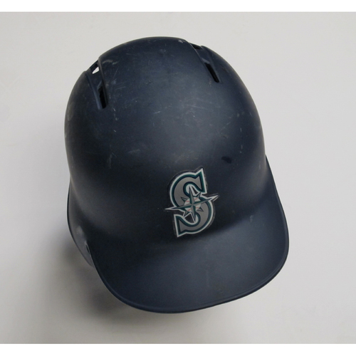 2018 Team-Issued Navy Batting Helmet: Dee Gordon