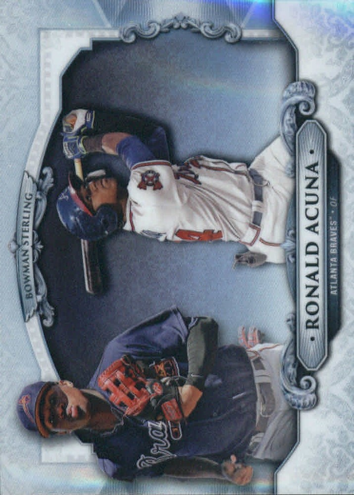 2018 Bowman Sterling Refractors #BSRA Ronald Acuna