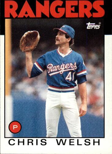 Photo of 1986 Topps #52 Chris Welsh