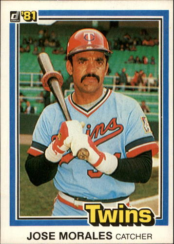 Photo of 1981 Donruss #495 Jose Morales