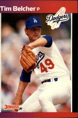 Photo of 1989 Donruss #203 Tim Belcher