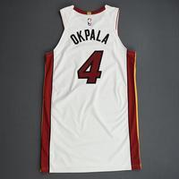 KZ Okpala - Miami Heat - Game-Issued Association Edition Rookie Season Jersey - 2019-20 Season