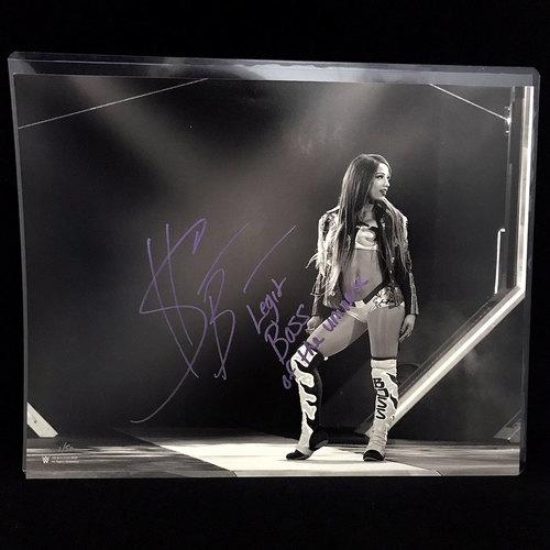 Sasha Banks SIGNED Black & White 11x14 Photo (#1 of 50)