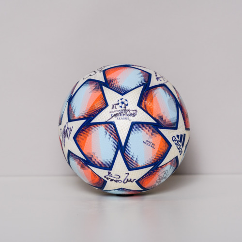 Photo of 20/21 Champions League Ball signed by the FC Shakhtar Donetsk Team