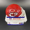 PCC - Chiefs Patrick Mahomes Signed Mini Helmet w/ SB LIV Logo