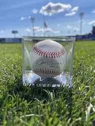 Photo of Joe Torre Signed Baseball