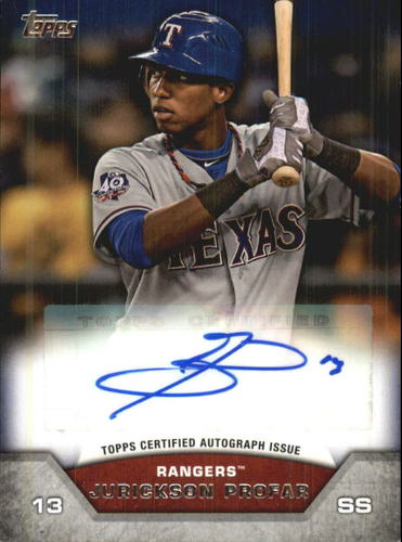 Photo of 2013 Topps Mini Autographs #JPR Jurickson Profar