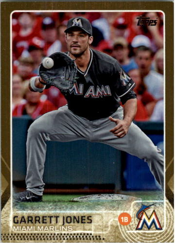 Photo of 2015 Topps Gold #121 Garrett Jones
