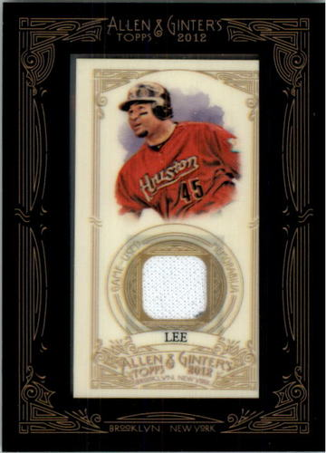 Photo of 2012 Topps Allen and Ginter Relics #CL Carlos Lee