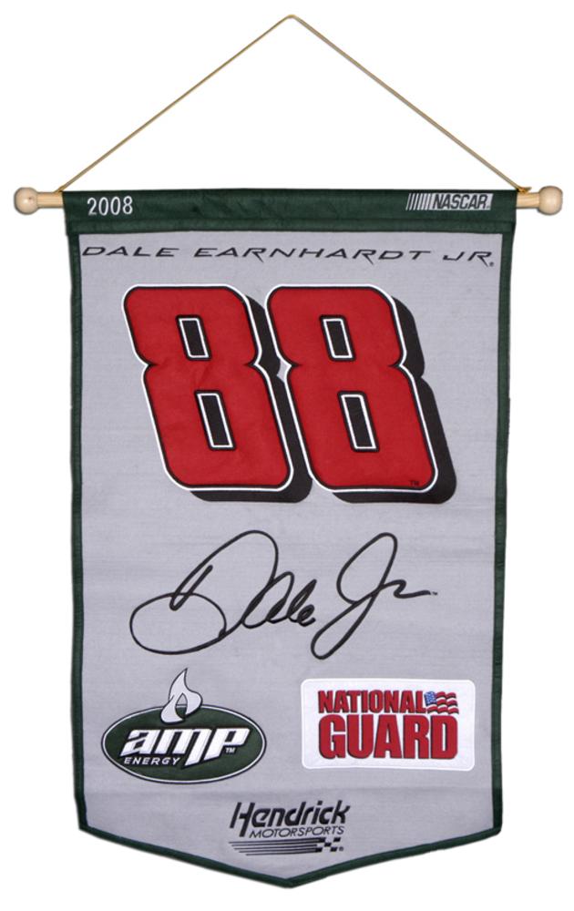 Dale Earnhardt Jr. 24'' x 36'' Wool NASCAR Banner
