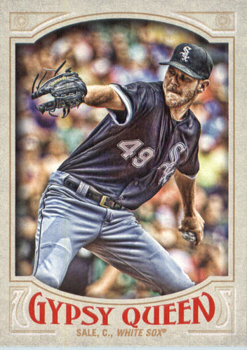 Photo of 2016 Topps Gypsy Queen #25A Chris Sale/Pitching