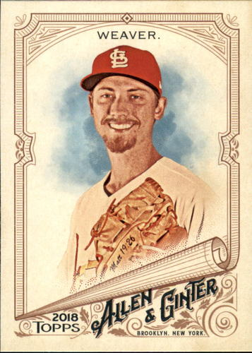 Photo of 2018 Topps Allen and Ginter #49 Luke Weaver