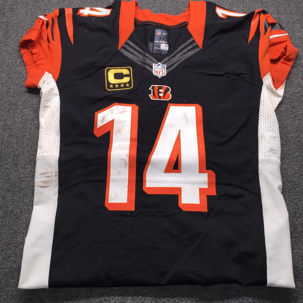 NFL Auction | NFL - Bengals International Series Andy Dalton Game ...