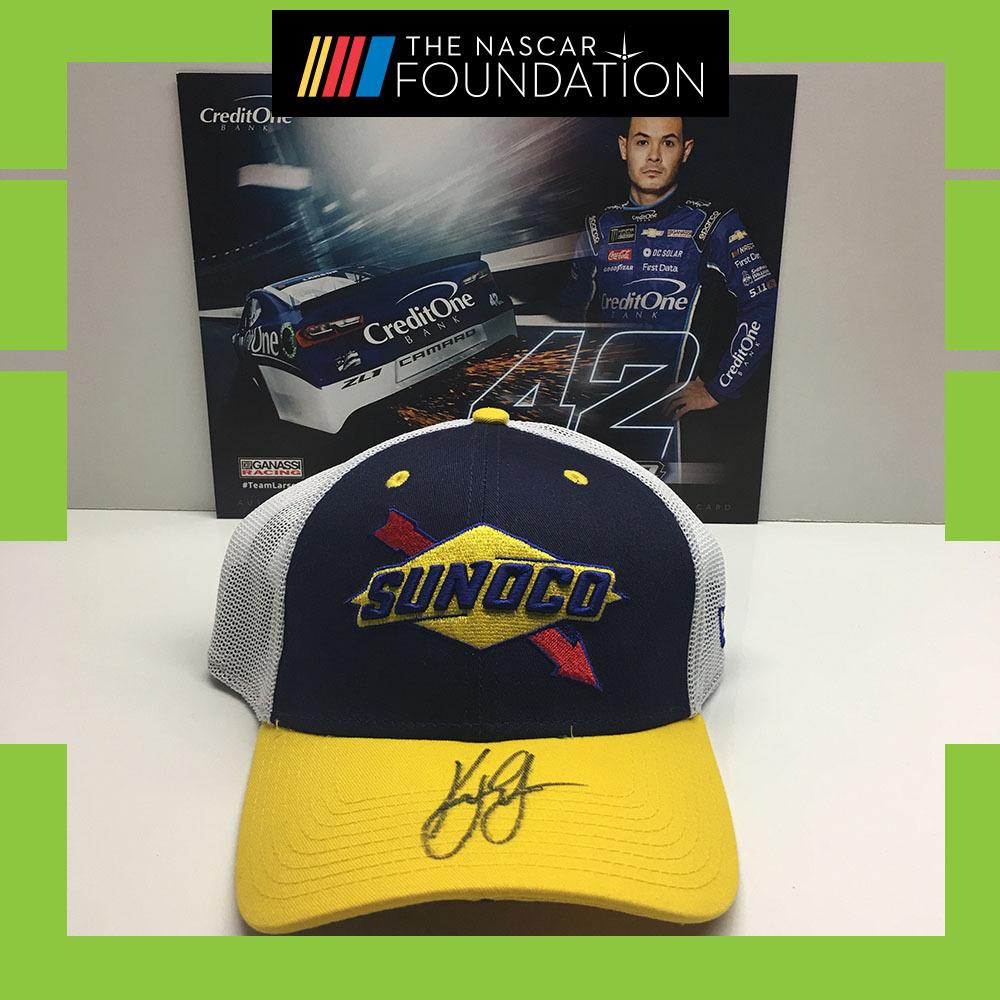 NASCAR's Kyle Larson Autographed Hat!