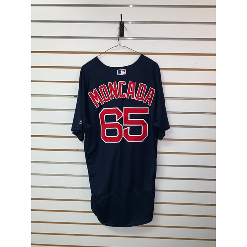 Photo of Yoan Moncada Game Used September 2, 2016 Road Alternate Jersey - MLB Debut