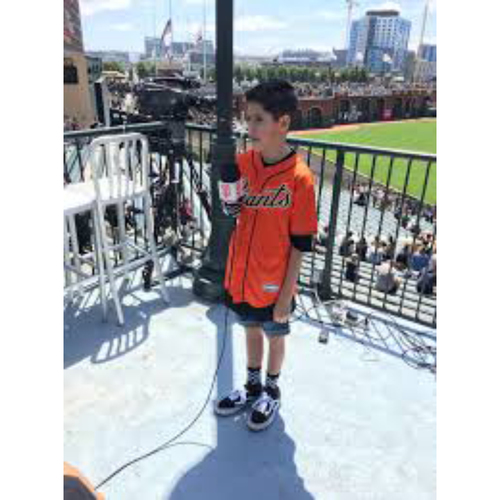 Photo of Giants End of Year Auction: 9/26/2019 Giants Junior Announcer Experience