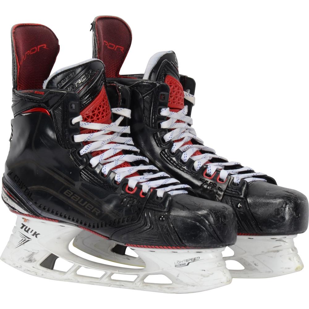 Filip Chytil New York Rangers Game-Used Black Bauer Skates from the 2018-19 NHL Season
