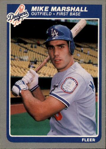 Photo of 1985 Fleer #377 Mike Marshall