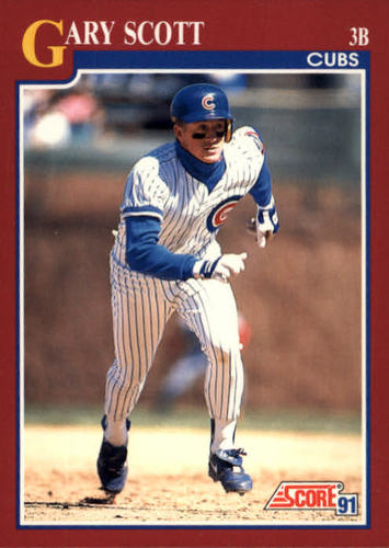 Photo of 1991 Score Rookie/Traded #90T Gary Scott RC