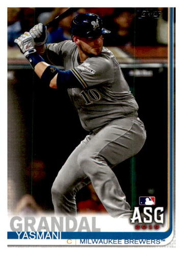 Photo of 2019 Topps Update #US13 Yasmani Grandal AS