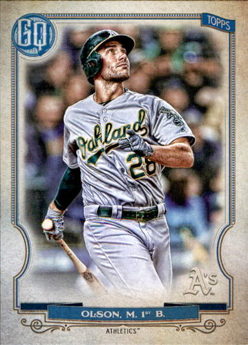 Photo of 2020 Topps Gypsy Queen #4 Matt Olson