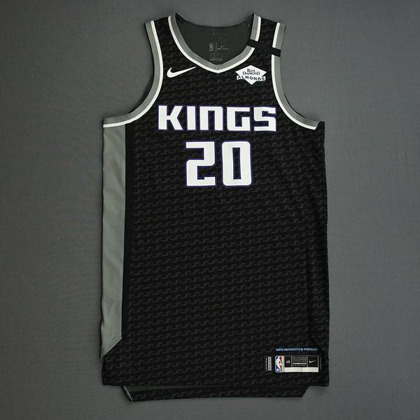 Image of Harry Giles III - Sacramento Kings - Game-Issued Statement Edition Jersey - 2019-20 NBA Season Restart with Social Justice Message