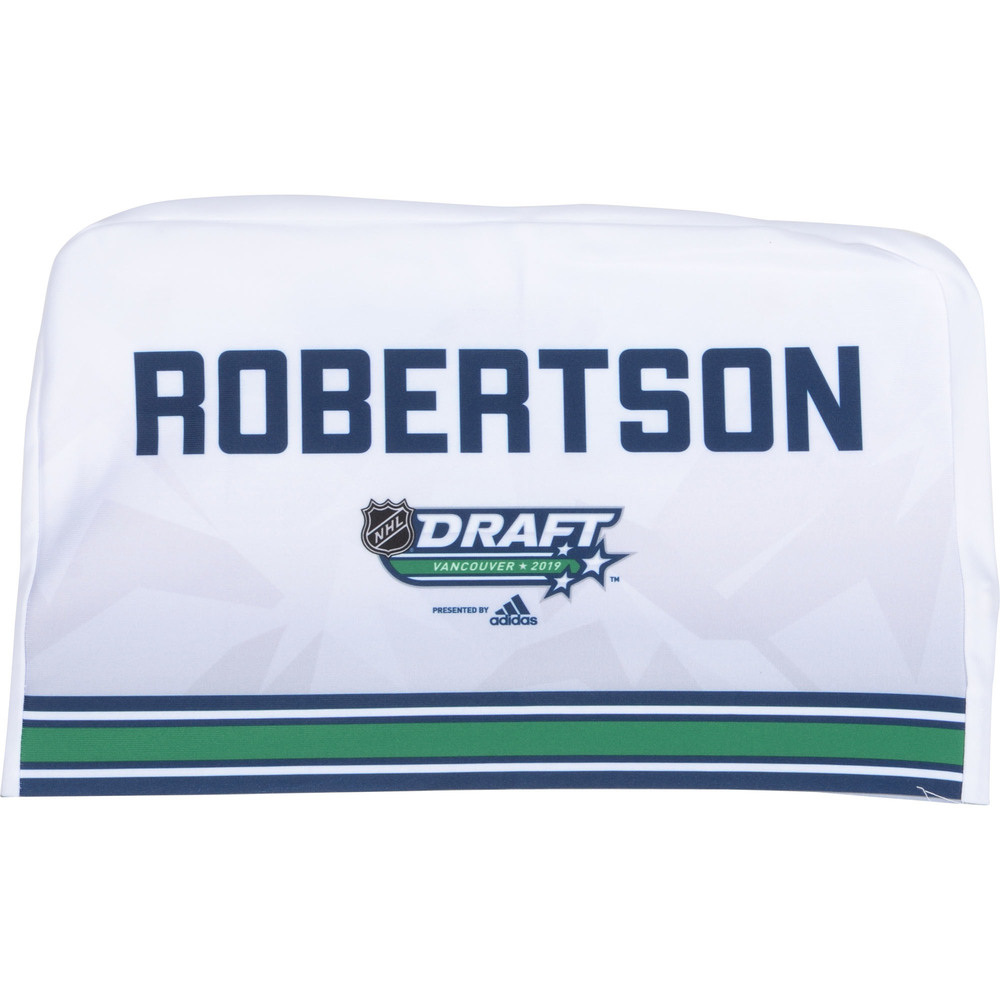 Nicholas Robertson Toronto Maple Leafs 2019 NHL Draft Seat Cover - Second set (Not Used)