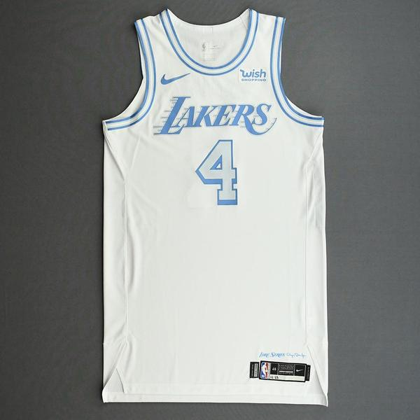 Image of Alex Caruso - Los Angeles Lakers - Christmas Day' 20 - Game-Worn City Edition Jersey