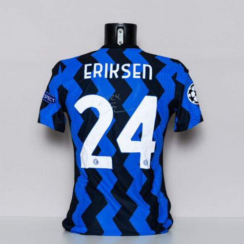 Photo of 20/21 FC Internazionale Milano Jersey - signed by Christian Eriksen