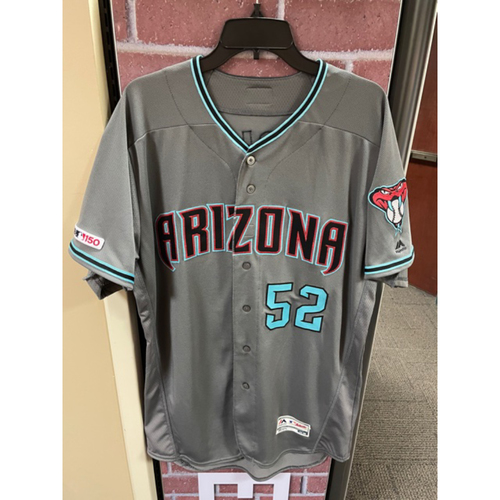 Photo of Zack Godley 2019 Team-Issued Road Alternate Jersey
