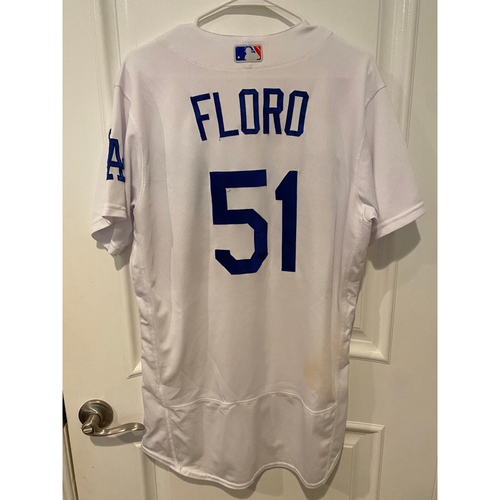 Photo of Dylan Floro 2020 Game-Used NLCS Jersey - Game 7