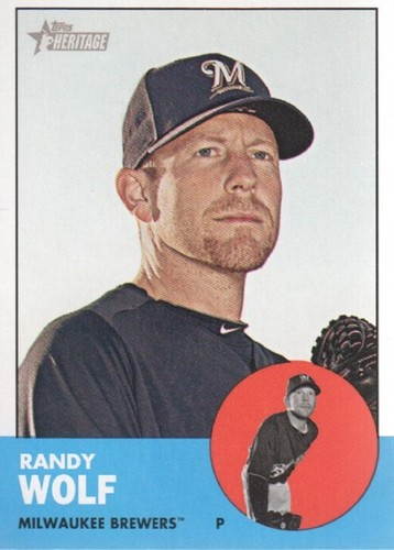 Photo of 2012 Topps Heritage #74 Randy Wolf
