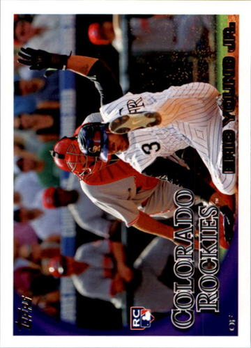 Photo of 2010 Topps #51 Eric Young Jr