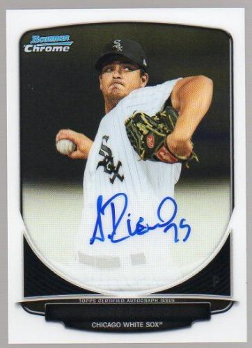 Photo of 2013 Bowman Chrome Prospect Autographs #AR Andre Rienzo