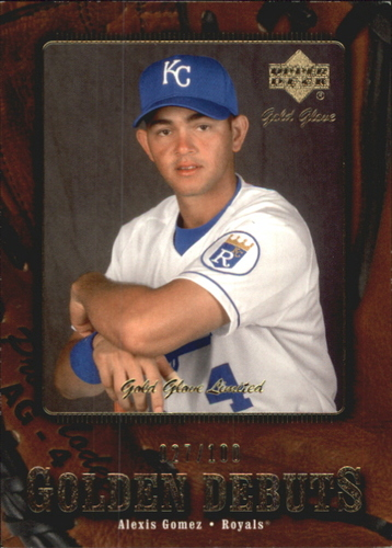 Photo of 2001 Upper Deck Gold Glove Limited #117 Alexis Gomez GD
