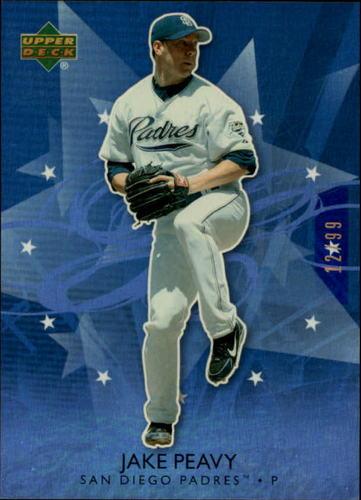 Photo of 2006 Upper Deck Future Stars Blue #56 Jake Peavy /99