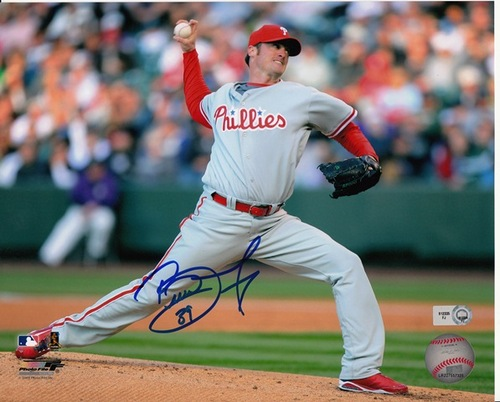 Photo of Brett Myers Autographed 8x10