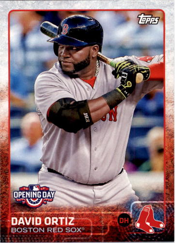 Photo of 2015 Topps Opening Day #17 David Ortiz