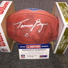 NFL - Jaguars Taven Bryan signed authentic football w/ 2018 Draft and Texas Ghost Logo