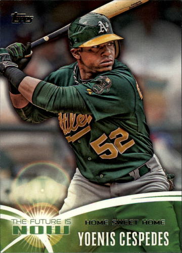 Photo of 2014 Topps The Future is Now #FN13 Yoenis Cespedes