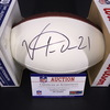 Colts - Vontae Davis Signed Panel Ball