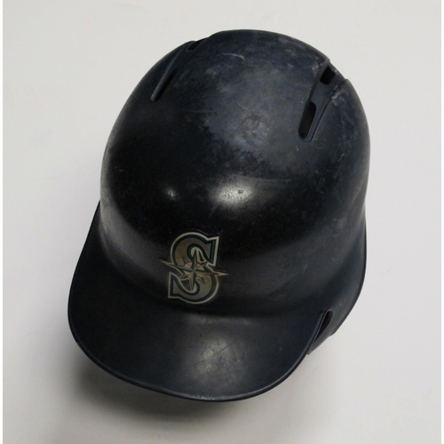 2018 Team-Issued Navy Batting Helmet: Nelson Cruz