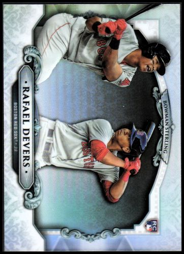 Photo of 2018 Bowman Sterling Refractors #BSRD Rafael Devers