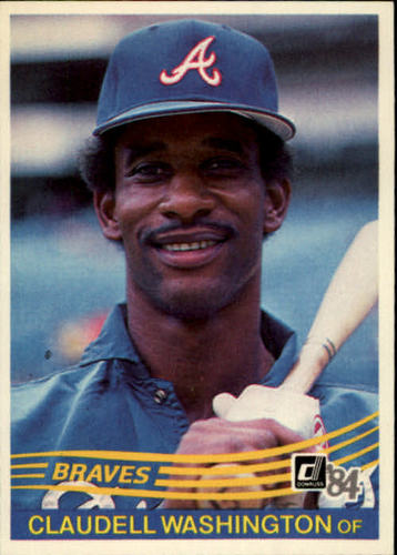 Photo of 1984 Donruss #310 Claudell Washington